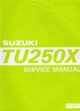 Suzuki TU250X 1996 Service Manual