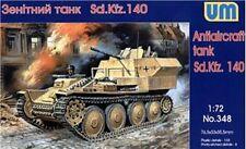 1/72 Sd.140 WWII German antiaircraft tank UM MODEL KIT 348