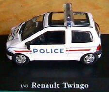 RENAULT TWINGO POLICE OLIEX 1/43 NO GENDARMERIE FRANCE