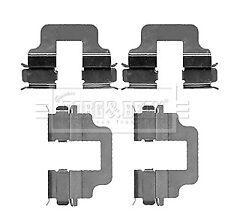 Brake Pad Fitting Kit BBK1211 Borg & Beck Genuine Top Quality Guaranteed New