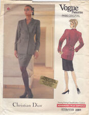 Vogue Female Suit Sewing Patterns