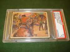 1940 LONE RANGER CARD, #17, PSA GRADED 3 - Vg, NICE LOOKING CARD