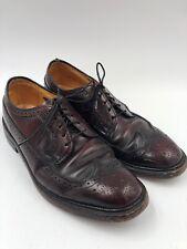 67616ac224c0 Hanover Shoe Wing Tip Oxfords Oxblood US 8.5 E C Burgundy - Combination  Last USA