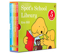 Spot's School Library 5 Books Hard Cover Book Set