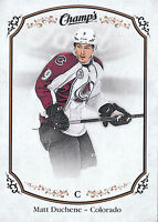 15/16 UPPER DECK CHAMPS BASE SP #209 MATT DUCHENE AVALANCHE *19036