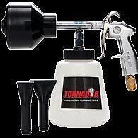 TORNADOR Air Driven Foam Car Wash Snow Gun Plus 50 ft Factory Direct Air Hose