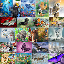 Animal DIY 5D Diamond Painting Embroidery Cross Craft Stitch Art Kit Home Decor