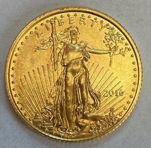 RANDOM YEAR 1/10 OZ. GOLD  AMERICAN EAGLE