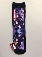 """New"" STAR WARS DARTH VADER Sublimated Crew Length Socks Size 9-11"