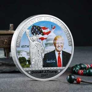 Donald Trump 2017 45th President US Commemorative Coin Make American Great Again