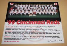 1999 Cincinnati Reds original team photo picture MLB