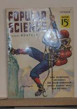 Popular Science Mountaineering Oxygen Apparatus  Ice Climbing  1936