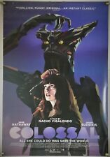 COLOSSAL DS ROLLED ORIG 1SH MOVIE POSTER ANNE HATHAWAY KAIJU MONSTER DRAMA(2016)