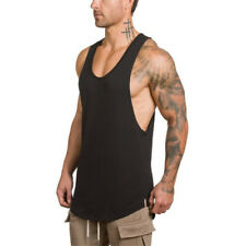 2020 MEN GYM cotton sleeveless shirts tank top Fitness Bodybuilding workout vest