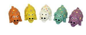 (3 Pack) Multipet Globlet Pig Latex Mini Plush Grunt Squeak Interactive Dog Toy