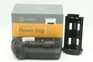 Promaster Vertical Control Power Grip For Nikon D800/D800E/D810 #J50955
