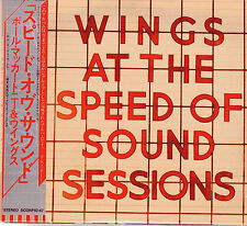 WINGS (PAUL MC CARTNEY/BEATLES) - AT THE SPEED OF SOUND SESSIONS