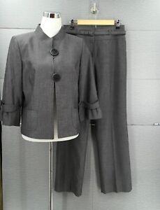 TAHARI Women's 2 Piece Blazer Pant Suit Sz 10