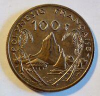 Französisch Polynesien / Australien - 100 Francs - 1988 - vz bis stgl