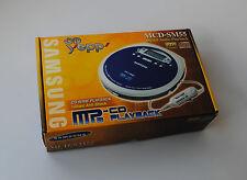 SAMSUNG MCD-SM55 - CD PLAYER - DISCMAN - MP3 CD PLAYBACK - DIGITAL AUDIO