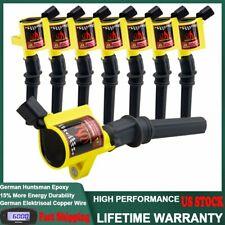 Set of 8 Ignition Coils Pack for Ford F-150 F-350 E-150 V8 4.6L 5.4L DG508 C145
