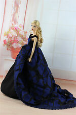 Fashion Royalty Princess Party Dress Clothes/Gown For Barbie Doll S335