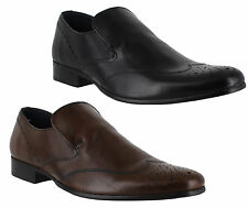 Red Tape Brogues 100% Leather Shoes for Men
