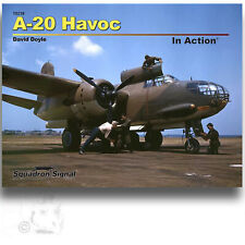 SIGNAL 10238 A-20 HAVOC IN ACTION *SC REFERENCE BOOK