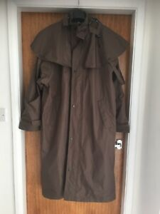 Aranwear Waterproof Long Riding Coat, Shoulder Cape L see full measurements vgc