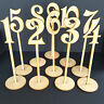 Freestanding Wooden Table Numbers  Balloon Weights - Wedding - Craft MDF Decor