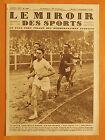 Le Miroir des Sports 504 du 17/9/1929-Ladoumègue gagne le 800 mètre & 2è Martin