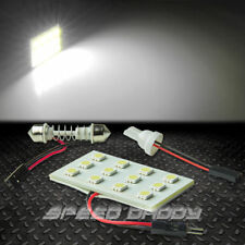 T10 12 SMD 12SMD 5050 CAR/TRUCK WHITE LED INTERIOR DOME/MAP 12V LIGHT BULB/PANEL