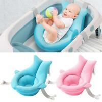 Infant Baby Bath Pad Non-Slip Bathtub Mat for Newborn Shower Safety Chair Seat#