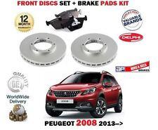 Für Peugeot 2008 1.2 1.4 1.6 Hdi 2013- > Bremsscheiben Vorne 266mm Satz +