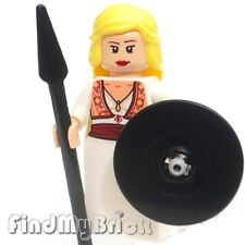 C203 Lego Custom Ancient Warrior Rohan Greek God Goddess - Athena Minifigure NEW