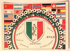 Cartolina Campionato Del Mondo Italia 90 - C'Ero Anch'Io Stemma Scudetto Ita