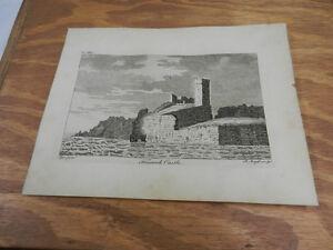 1776 Antique Scotland/Hebrides Print//FRESWICK CASTLE