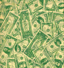 Dollar Bill Tissue Paper # 559 ~ 10 Large Sheets