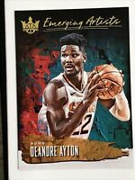 DEANDRE AYTON RC 2018-19 COURT KINGS EMERGING ARTISTS ROOKIE #16