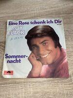 """Roy Black 7"""" Vinyl Single """"Eine Rose schenk ich dir / Sommernacht"""" 7 Inch 45RPM"""