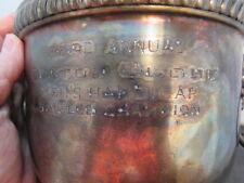 Golf Trophy -  Handicap Tournament Cup - Vintage
