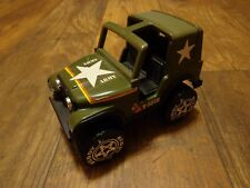 "BUDDY L--6"" ARMY JEEP VEHICLE (LOOK) T5278"