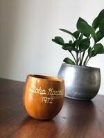 Vintage HAWAII Tiki Barware MUG Cup Kauai ALOHA Mid-Century SOUVENIR Cocktail