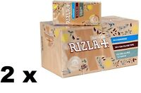 40 Rizla NATURA ULTRASLIM 5.7mm filter tips,brown (4800 filters - 2 Full Box)