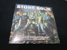 Stone Sour - Come What(ever) May Metal Radio Sampler Card Sleeve - NM - RARE!!!!