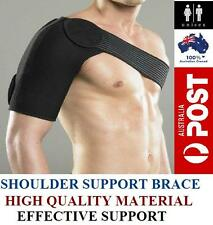 Adjustable Shoulder Support Brace Compression Strap Heat Patch Protection Sports