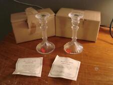 Lot of 3 Lenox Crystal Candlesticks 781500 Austria Brand New Free Shipping