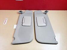 *2006-2010 Jeep Commander Sun Visor Sunvisor Set W/ Covered Mirror OEM