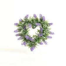 Kunstblumen Lavendelherz Violett B: 29 cm Kunstpflanze Fensterdeko Tischdeko