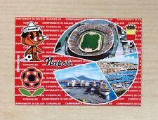 CARTOLINA - CAMPIONATO DI CALCIO EUROPA '80 - NAPOLI 1980 - NUOVA N°8208-F  NEW